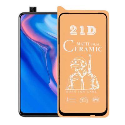 محافظ صفحه نمایش سرامیکی مات مناسب برای گوشی Huawei Y9 Prime 2019