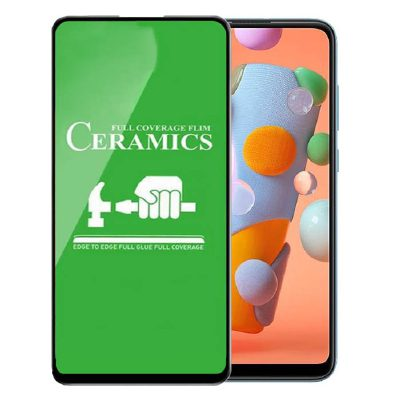 محافظ صفحه نمایش سرامیکی مناسب برای گوشی Samsung Galaxy A11