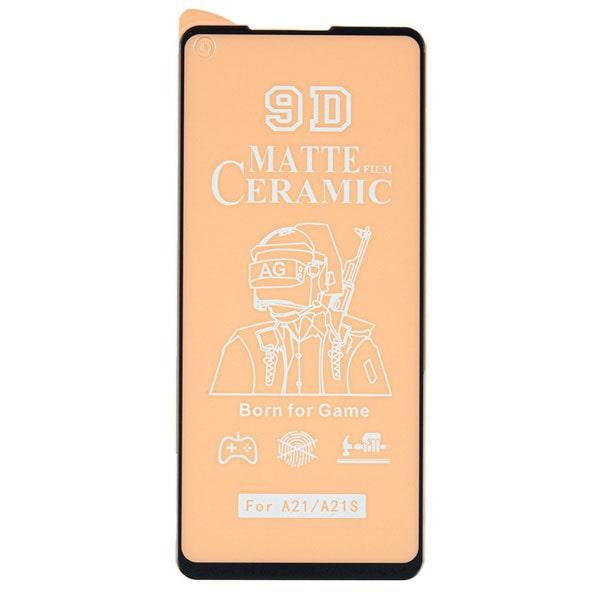 محافظ صفحه نمایش سرامیکی مات مناسب برای گوشی Samsung Galaxy A21s