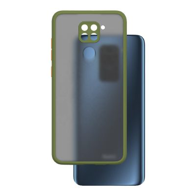 کاور پشت مات محافظ لنزدار مناسب برای گوشی Redmi Note 9