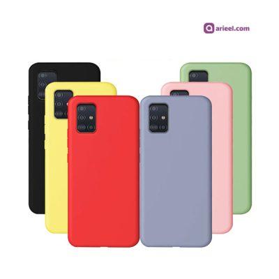 کاور سیلیکونی مناسب برای گوشی Samsung Galaxy A71