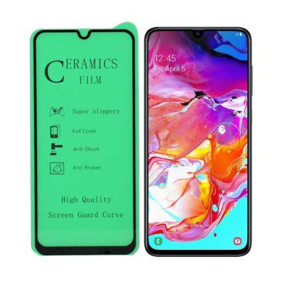 محافظ صفحه نمایش سرامیکی مناسب برای گوشی Galaxy A70
