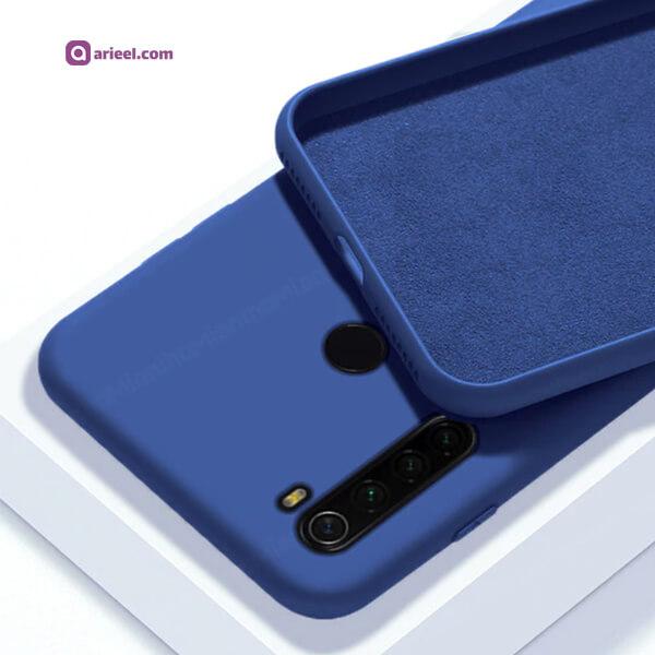 کاور سیلیکونی محافظ لنزدار مناسب برای گوشی Redmi Note 8