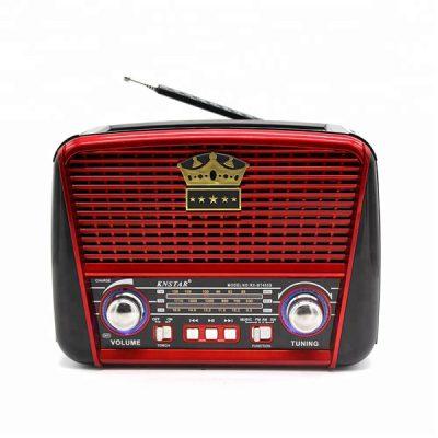 رادیو اسپیکر بلوتوثی قابل حمل Golon مدل RX-BT455S